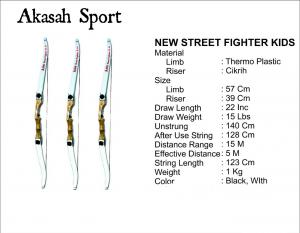 Jual Busur Panah New Street Fighter Kids